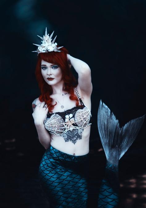Mermaid Princess ~ Sainadh Mallula