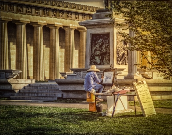 Al Wood, Parthenon Painter