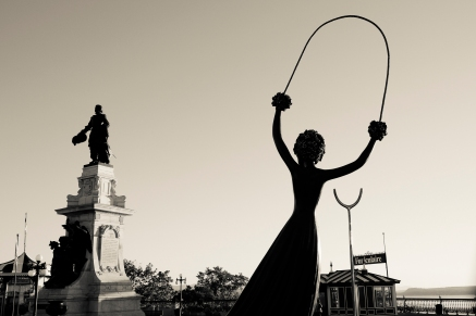 Alice in Wonderland, Quebec City, by Emily Passino
