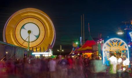 Busy at Fair, Sainadh Mallula