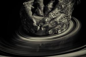 Hands at Work, by Rick Borchert