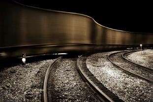 moving train, West Virginia
