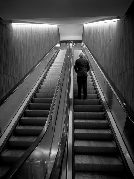 Emily Helms - Escalator Man