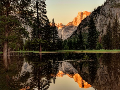 Durwood Edwards, Half Dome Reflection